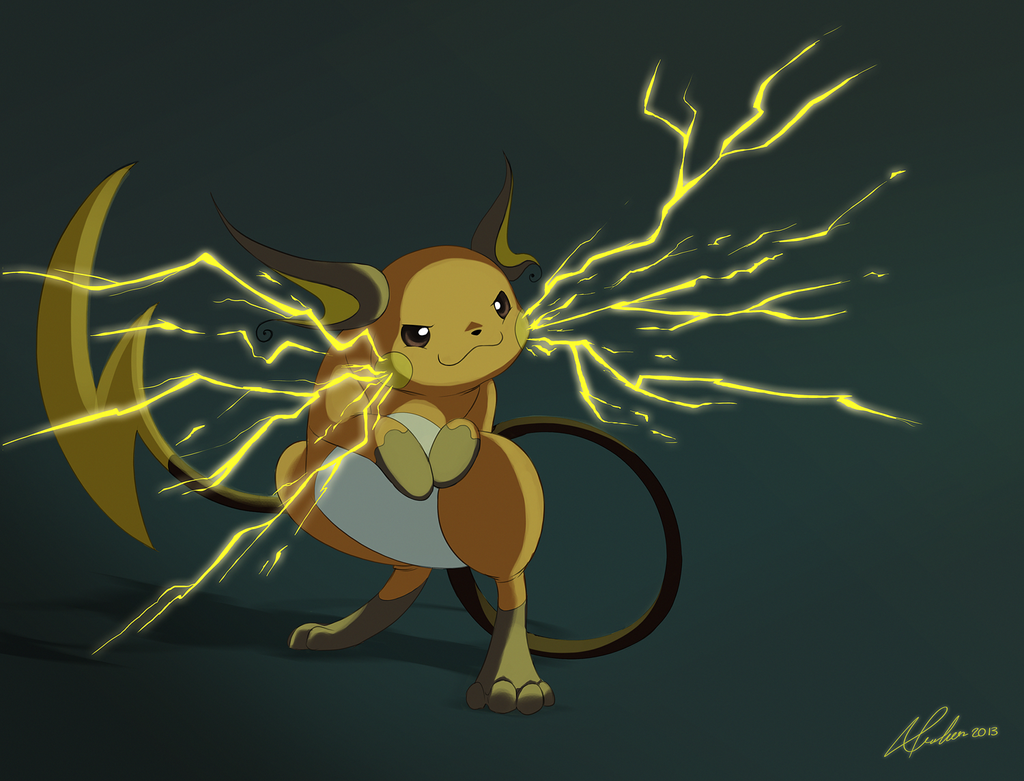 Pokemon Challenge Day 4 - Electric - Raichu by AliceParkes ...