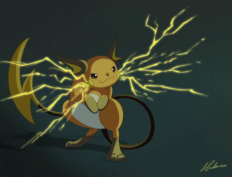 Pokemon Challenge Day 4 - Electric - Raichu