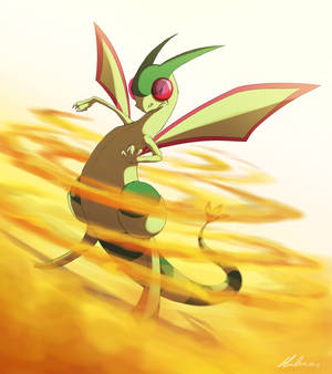Pokemon Challenge Day 3 - Dragon - Flygon