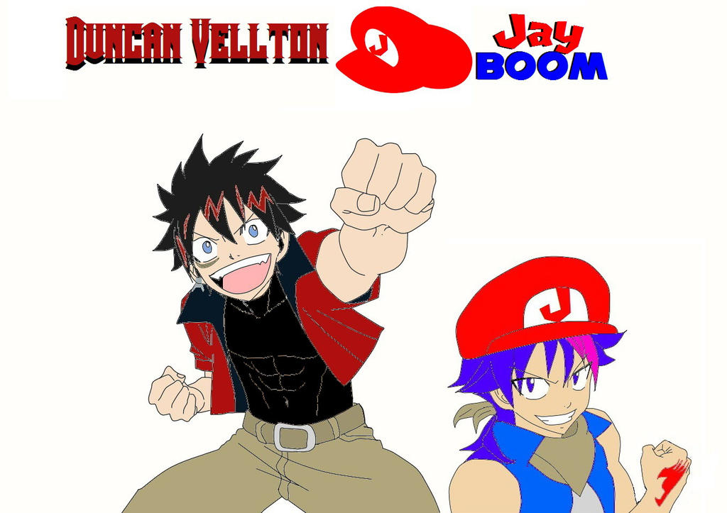 Duncan Vellton X Jay Boom Crossover by jayteam on DeviantArt
