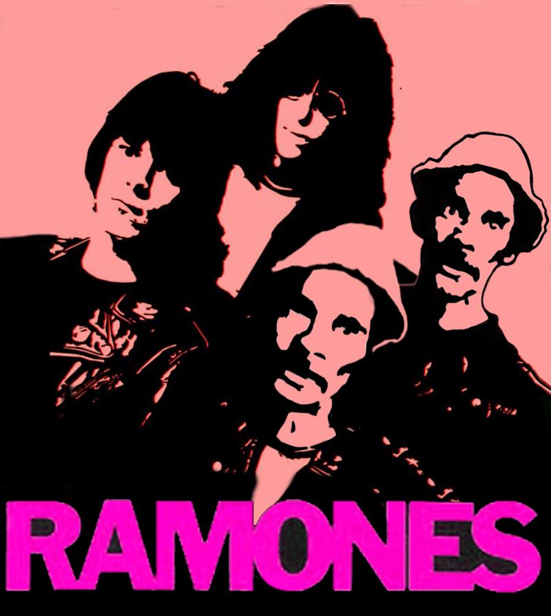 the RAMONES by GABOGRAFICO