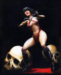 Vampirella by DGlapizpincelplumin