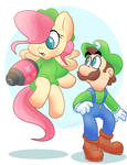 Mario + Ponies Kingdom Battle