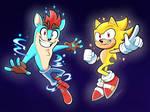 Twister Crash and Super Sonic