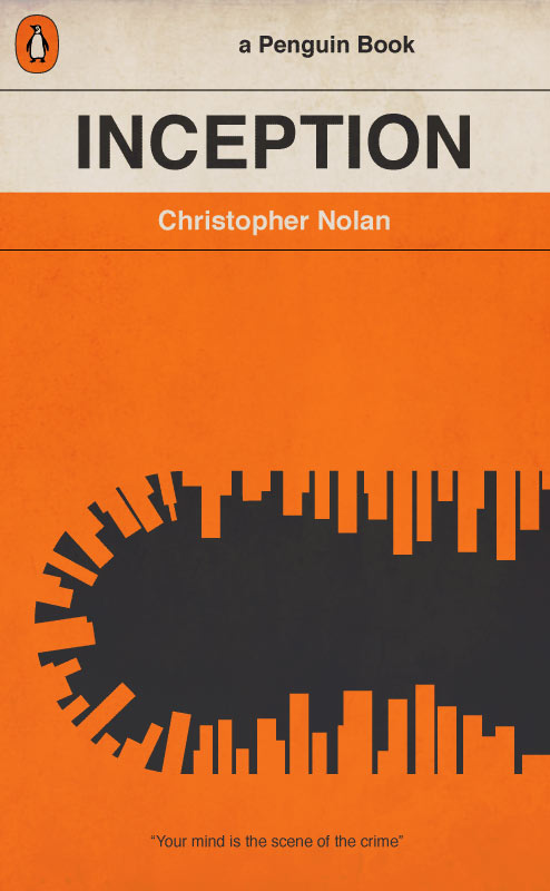 Penguin Book Cover Art Prints : Inception novel cover by bigoldtoe on deviantart