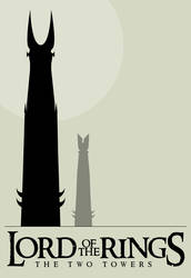 LOTR Twin Towers by bigoldtoe