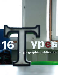 16 Types Book Cover Concept 2 by bigoldtoe