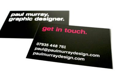 My business card by bigoldtoe