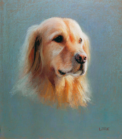 Golden  Pastel  24 x 18 by edlittle