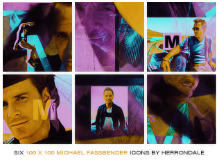 Michael Fassbender Icon Pack by herrondale