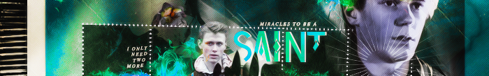 Be A Saint Banner by herrondale