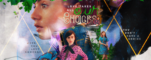 Love Takes All Our Choices Signature by herrondale