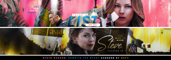 Rewrite The Story Banners by herrondale