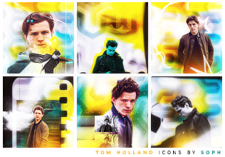 Tom Holland Icons by herrondale