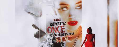 We Were Once Believers Signature