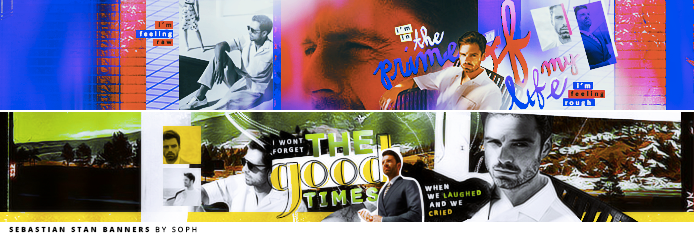 Sebastian Stan Banners by herrondale