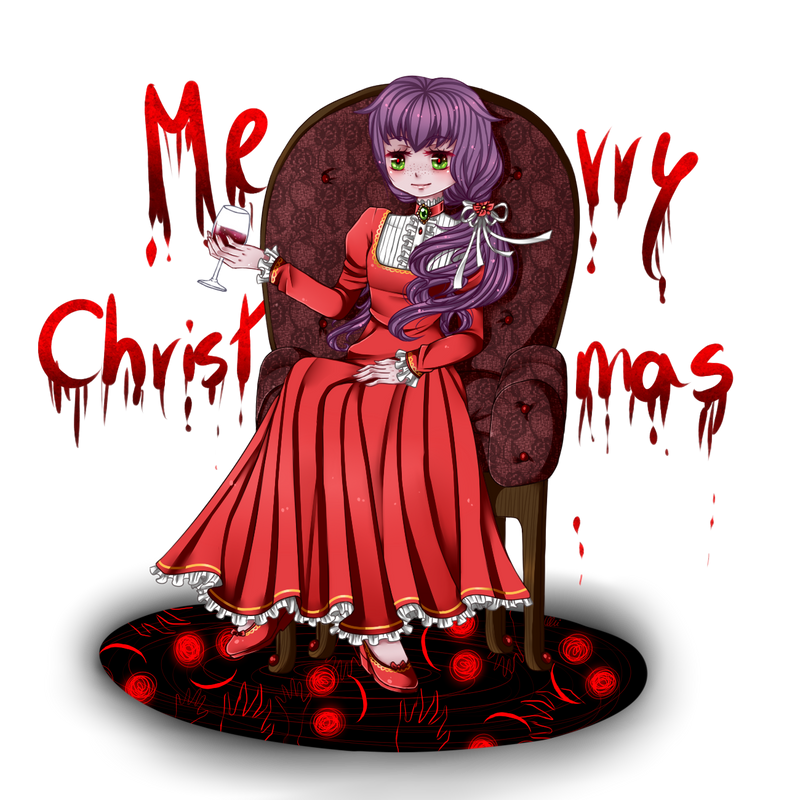 Viola wishes you Merry x-mas by TheULTImateAngel