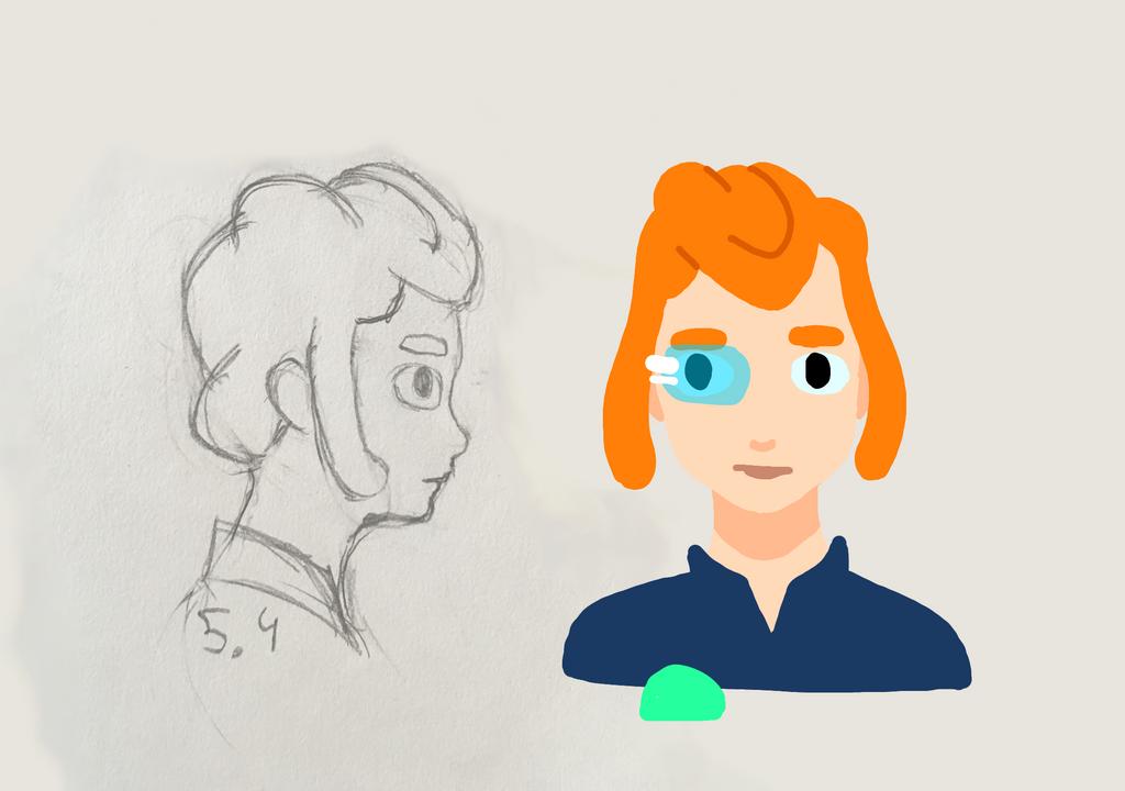 OLoCo - character design #1 Star Nak by captGuimbal