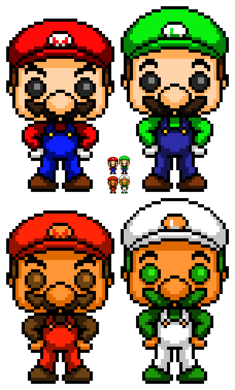 Mario And Luigi Pops Remake By Witheredbbfilms On Deviantart