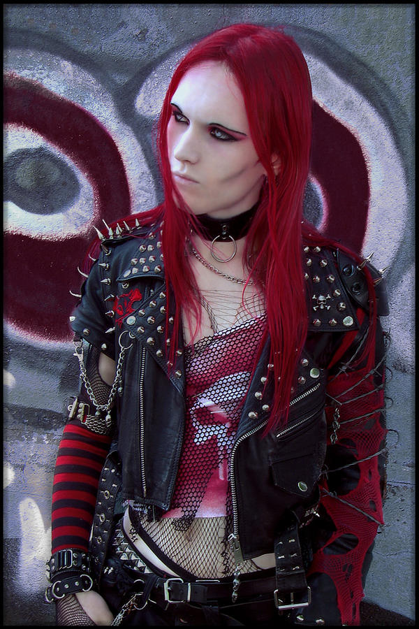 Vampire Goth Male Fashion
