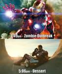 Iron Man vs Zombies