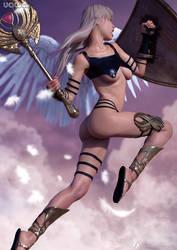 150 - Battle Angel by uawa