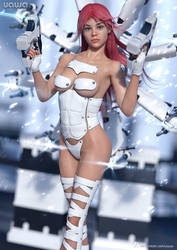 151 - Cybergal by uawa