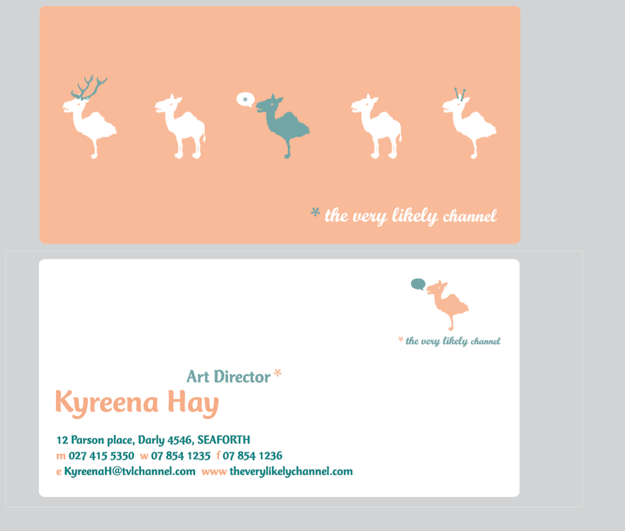 tv channel: business card by PersAbsynthFaerie on DeviantArt