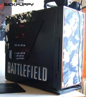 Casemod airbrushed Battlefield