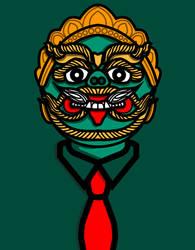 Demon Businessman