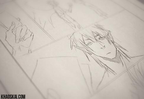 mangapage sketch by khaoskai