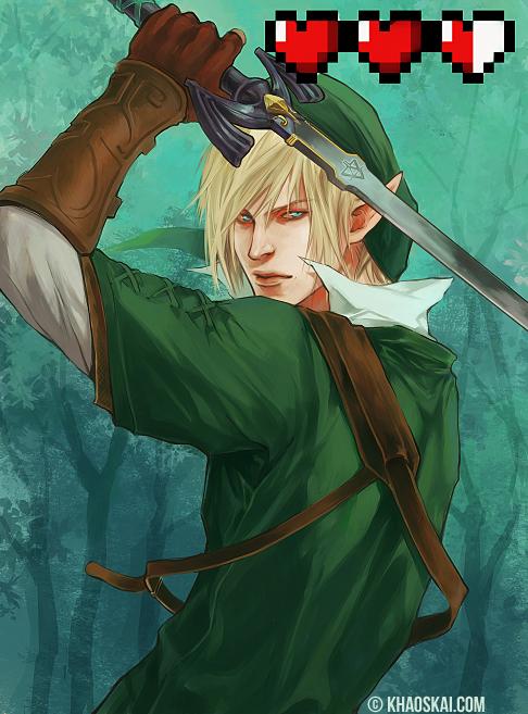 Legend of Zelda - LINK by khaoskai