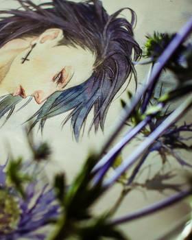 Yuhi - watercolor / details