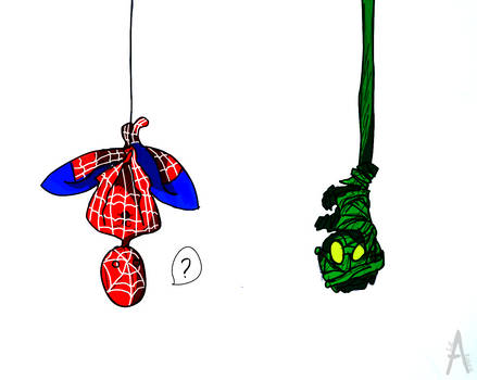 The meeting: Spiderman and Amumu