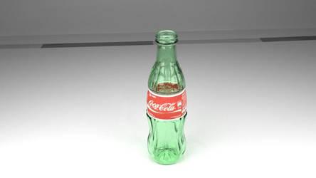 3D Blender Coca-Cola.