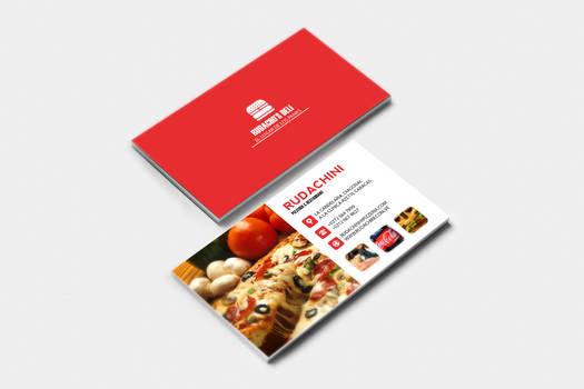 Restaurant Presentation Card