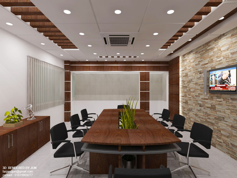 Conference Room Design 01 view 01 By Jons3d On DeviantArt