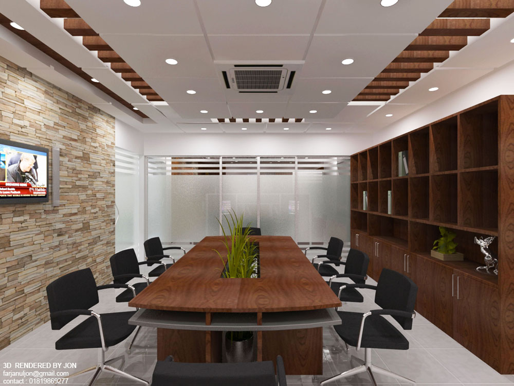 Conference Room Design 01view2 by jons3d on DeviantArt