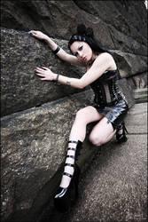 she and her darkness. by RyuKiyhuri