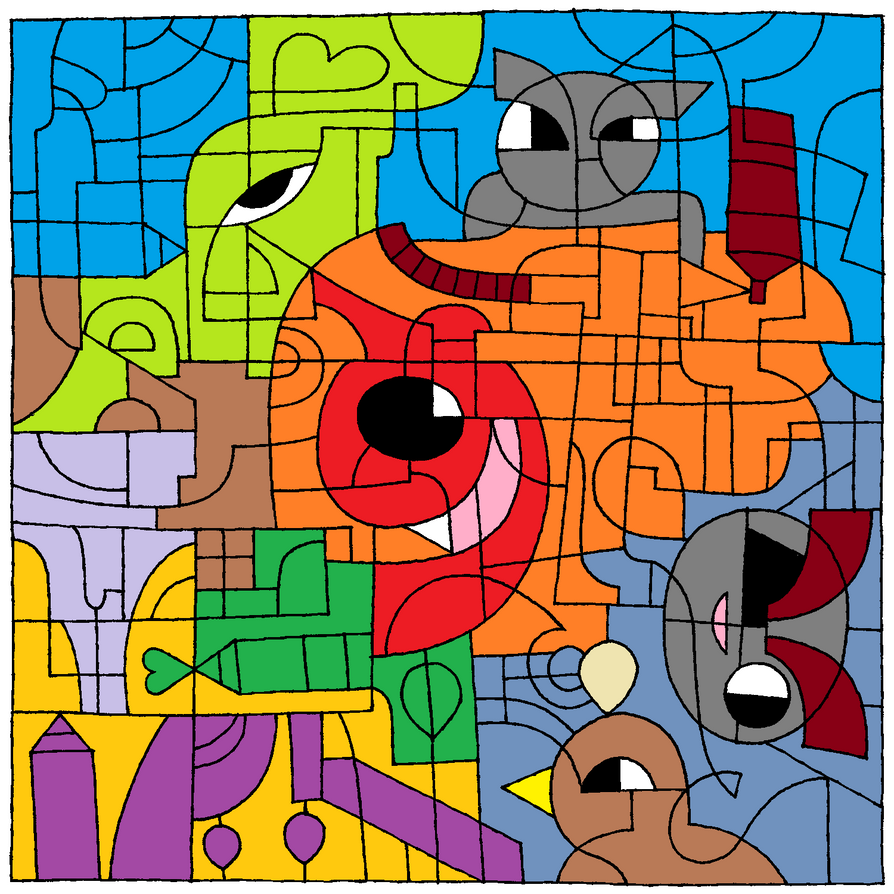 Eye See You (Deviant Art 16th Birthday Challenge) by LazySStorm