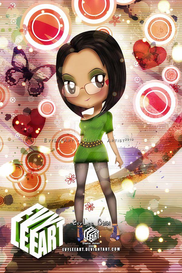 EvyLee Chibi by EvyLeeArt