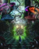 Coming in Wonderland II by EvyLeeArt