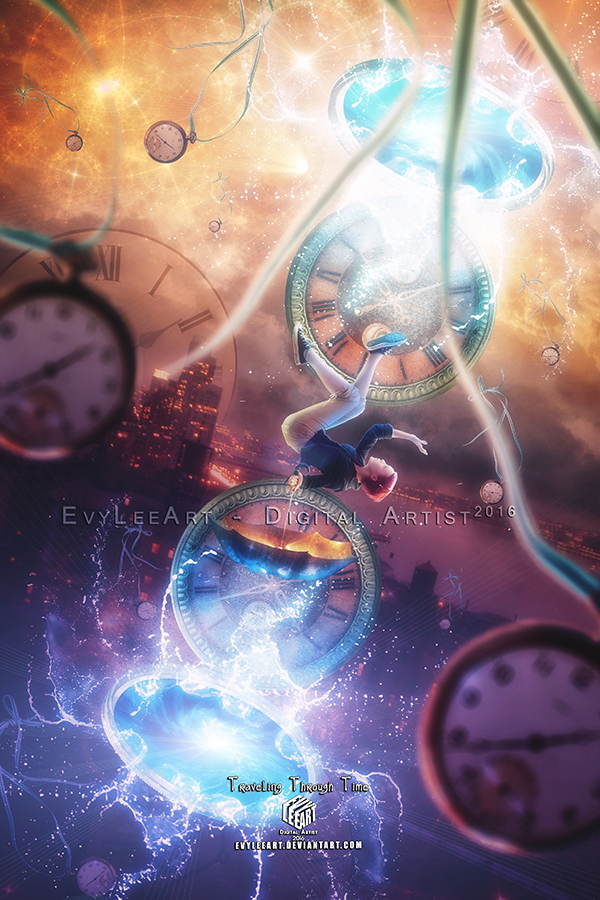 Traveling through time by EvyLeeArt