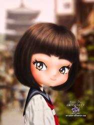 Hirose Suzu by EvyLeeArt