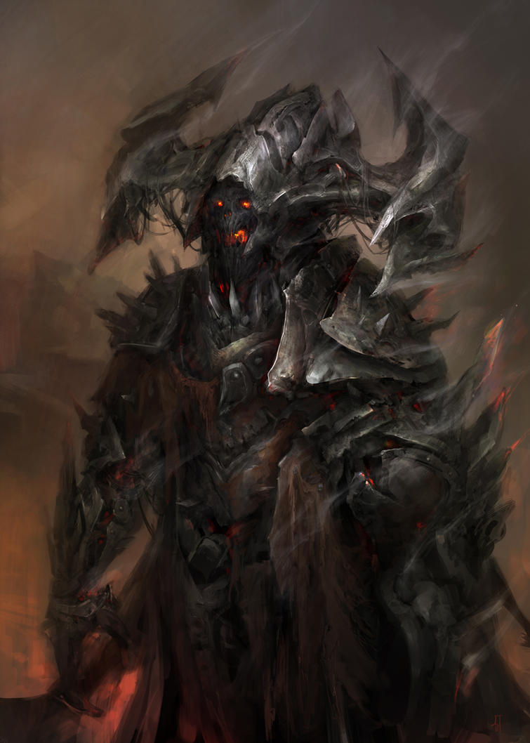 Concept Demon For The Soul Reaper by TsimmerS