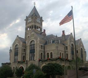 Victoria Co. Courthouse by jlthomason