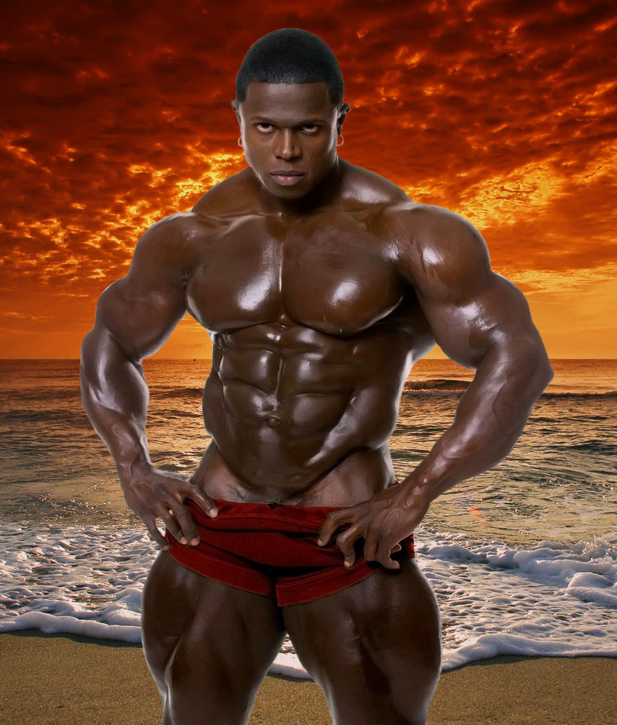 Hot Black Gay Muscle