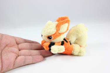 Tiny Arcanine Pokemon Plush