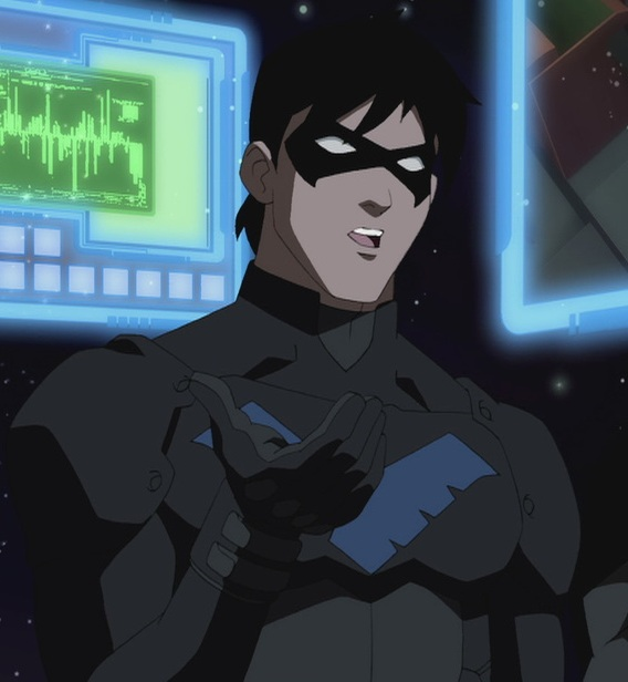 Young justice nightwing by nhrynchuk on deviantart - Pictures of nightwing from young justice ...