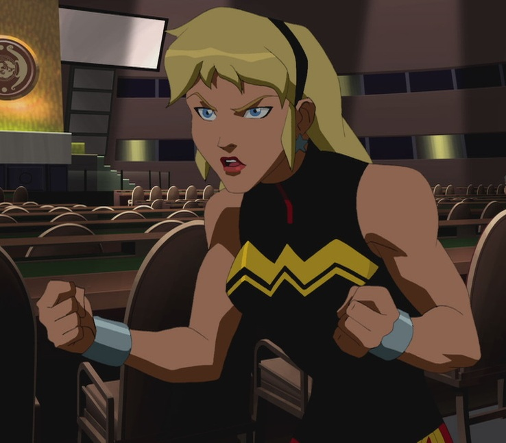 Robin young justice wonder girl